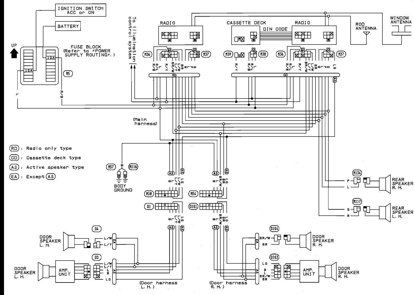 Elegant 2001 Nissan Xterra Radio Wiring Diagram Di 2020