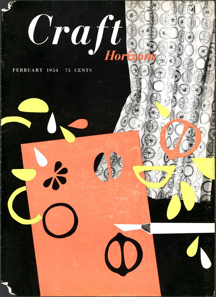 Craft Horizons Magazine January February 1954 Volume 14 Number 1