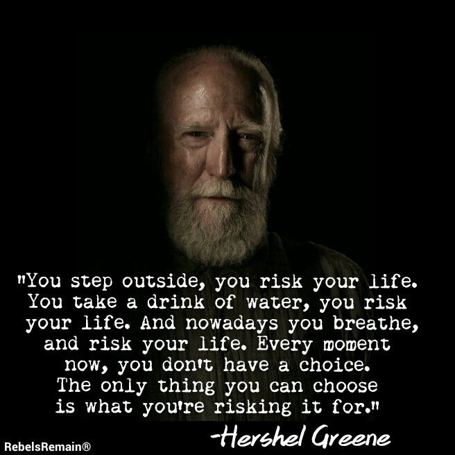 Quote For The Dead: Hershel Greene Quotes. QuotesGram