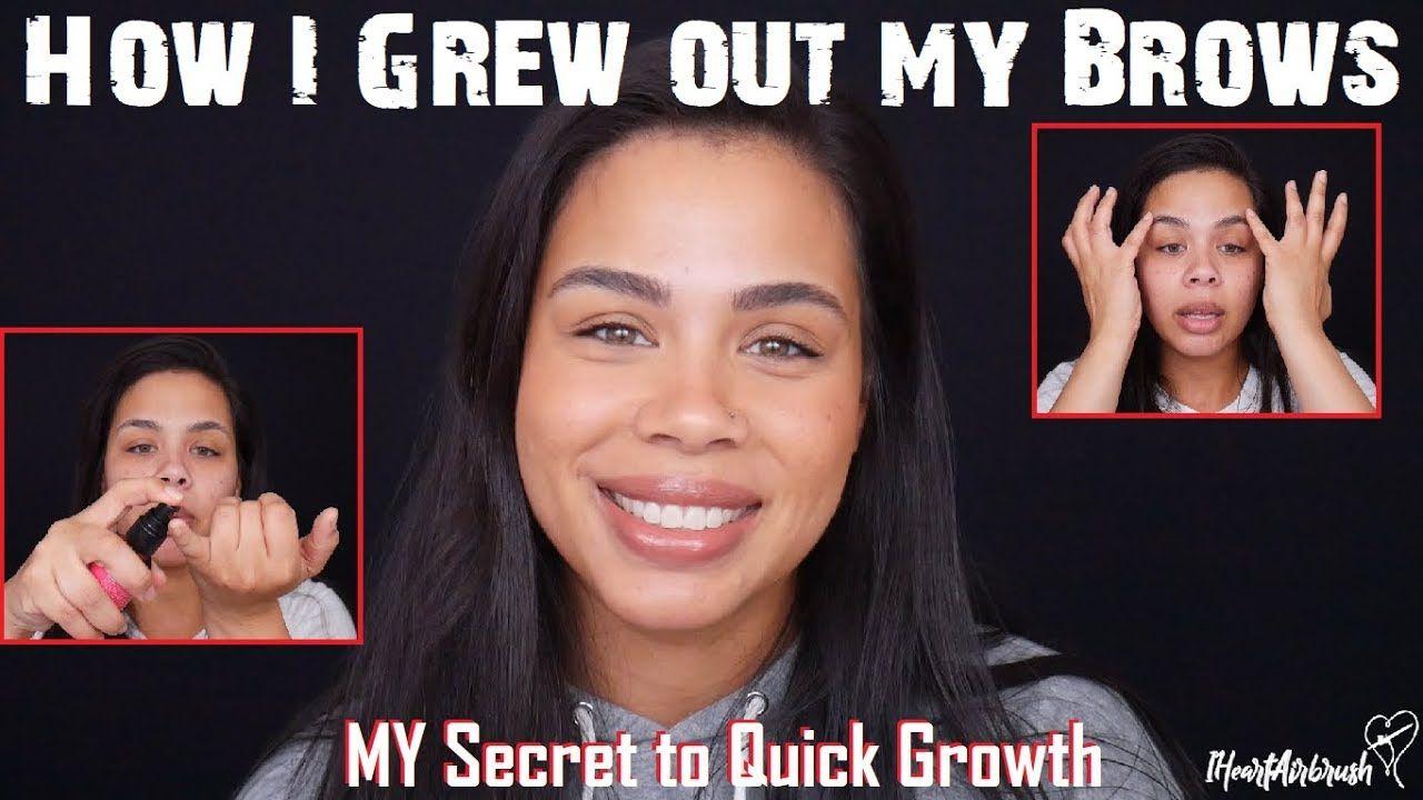 How To Grow Brow Hair Fast | Brows, Dinair airbrush makeup ...