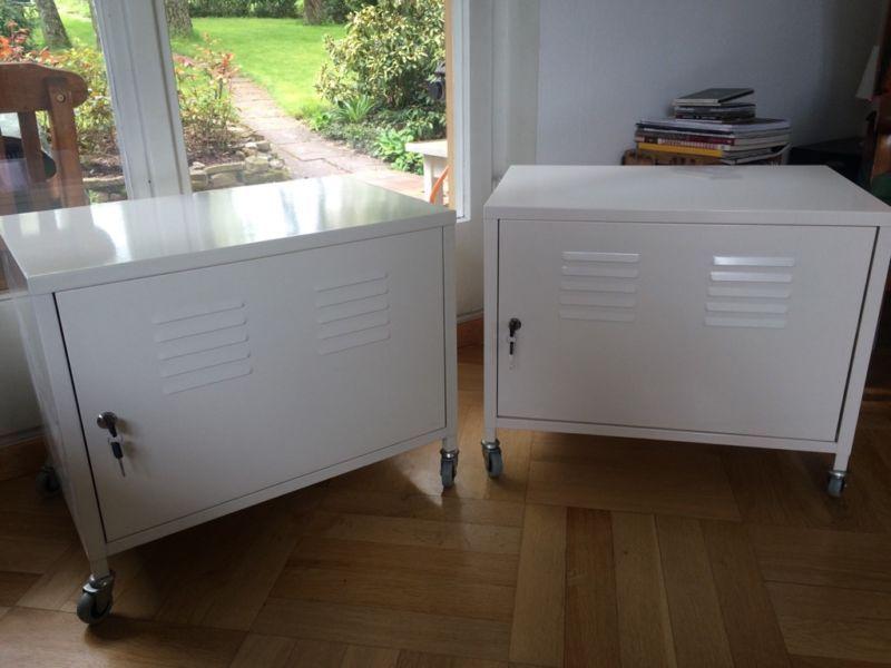 Ich Biete Hier Zwei Ikea Schrank Ps Rollcontainer In Weiß