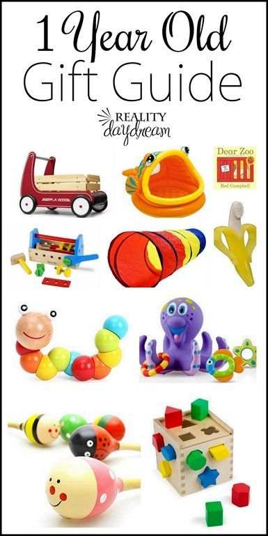 CUTE Non Battery Powered Gift Ideas For 1 Year Olds