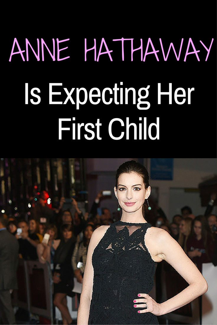 The couple has yet to make an official announcement, but Hathaway is already making headlines for her adorable bump style. #annehathaway #celebbabies #famousbaby #babybump #whattoexpect | whattoexpect.com