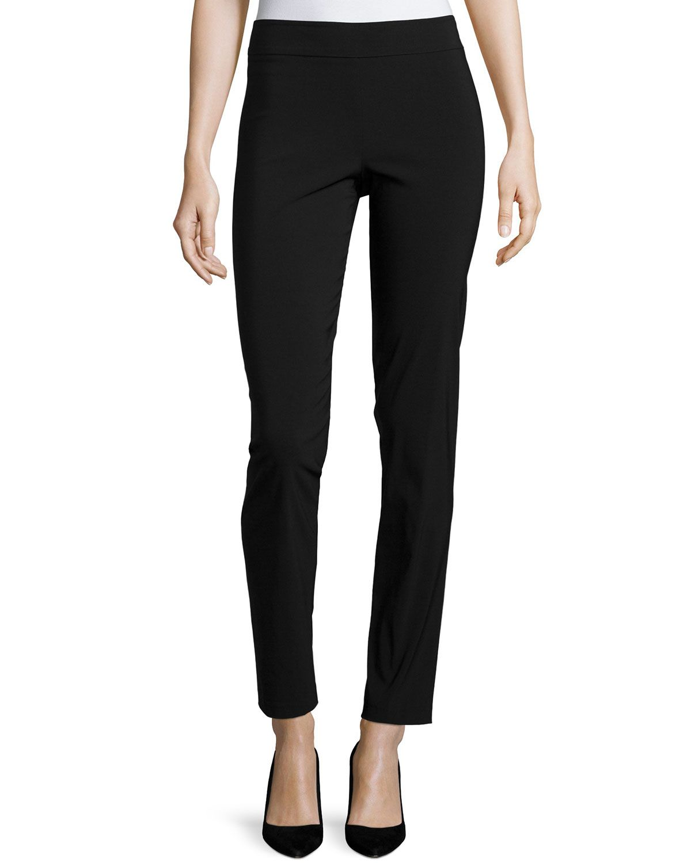 Billy straightleg pants womenus size brown avenue montaigne
