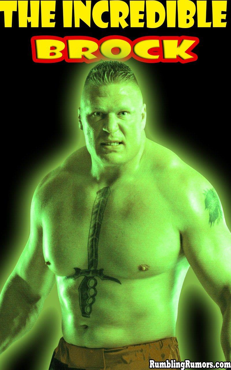 Brock Lesnar A3 Poster