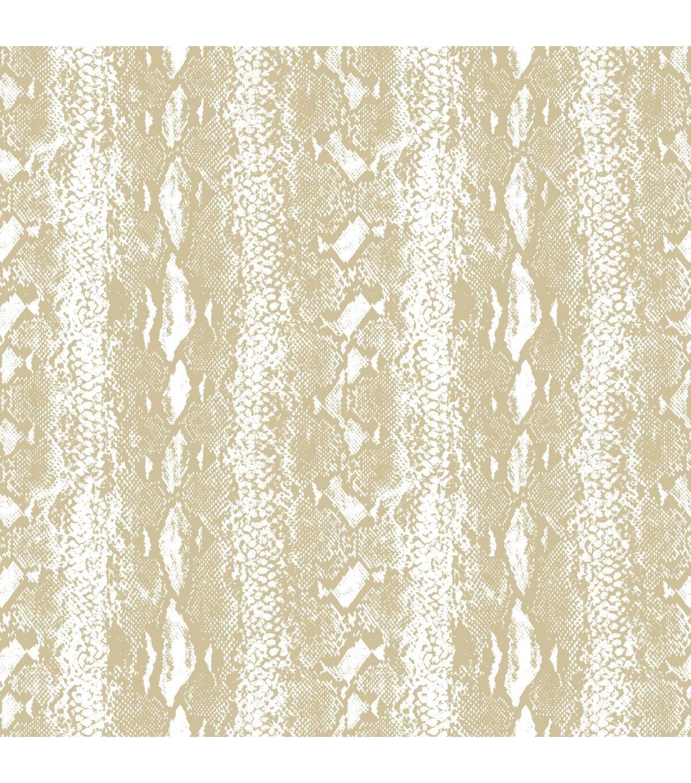York Wallcoverings Wallpaper White Gold Snake Skin Joann Peel And Stick Wallpaper Peelable Wallpaper Wall Coverings