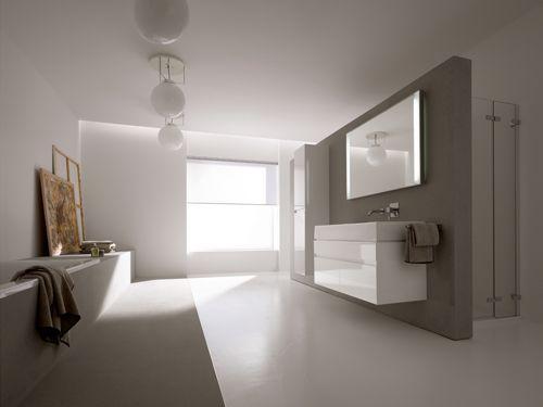 Awesome badkamer ideeen met gietvloer pu badkamermeubels