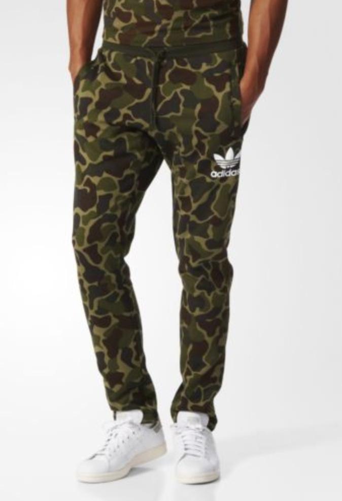9035c8bb730e FOR SALE  adidas Originals Mens Camo Sweat Pants Trousers Joggers Trefoil