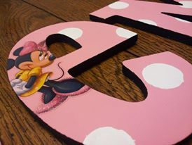 Gemma's Minnie Mouse toddler room