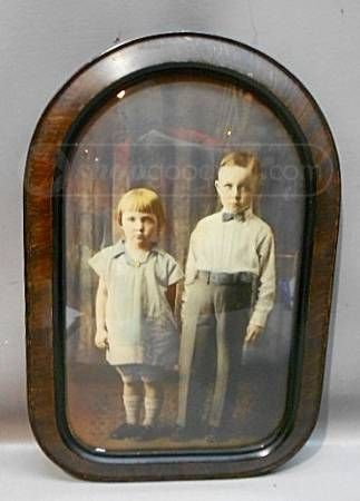 Antique Beveled Glass Photo Frames With Childrens Photos Things I