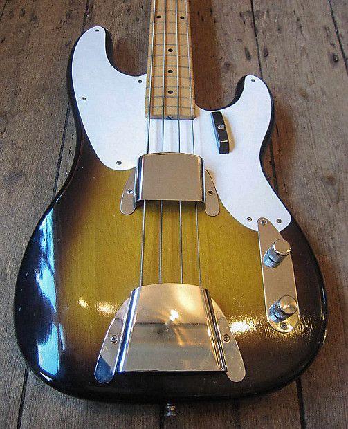 1957 Fender Precision Bass Vintage Fender Bass Mint Unbelievably Clean Bass New Kings Road Vintage Guitar Emporium Reverb Fender Precision Bass Fender Bass Guitar