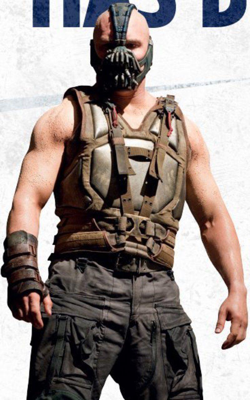 Movie The Dark Knight Rises Bane Vest   Tom hardy bane, Batman the dark ...