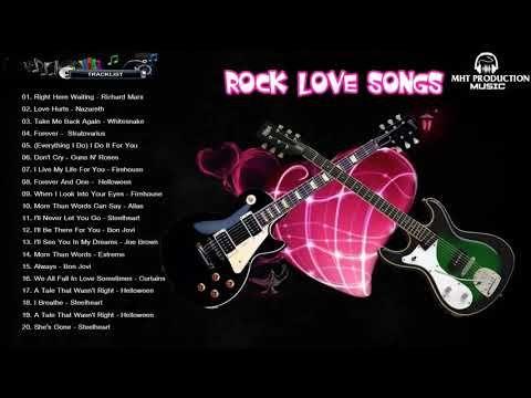 best rock love songs ever