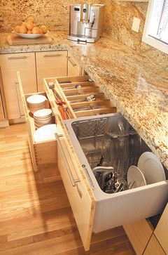 Love The Built In Dishwasher Drawers