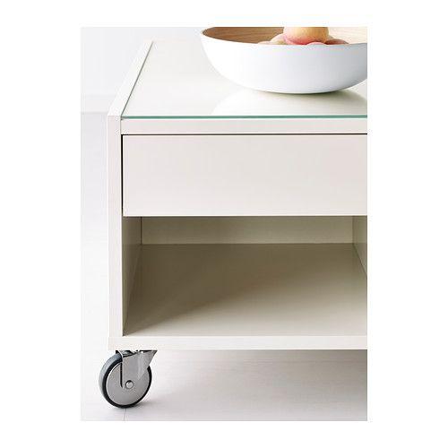 BOKSEL Mesa de centro - blanco - IKEA | menjador | Pinterest | Ikea ...