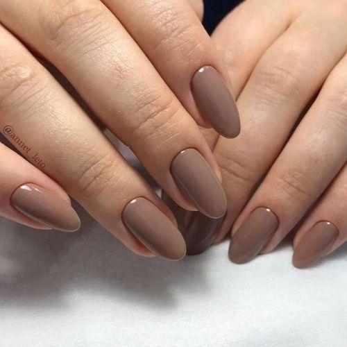 Untitled Natural Acrylic Nails Nails Minimalist Nails