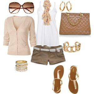 pink n tan, created by sara-barry on Polyvore by jojablueberry