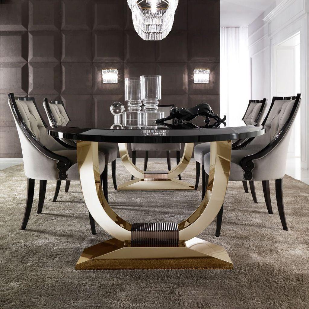 40 Ripping Luxury Dining Room Design Ideas Luxuryrooms Diningroomdesign Diningroomdecoratingideas Luxury Dining Room Luxury Dining Room Tables Luxury Dining Luxury dining table and chairs