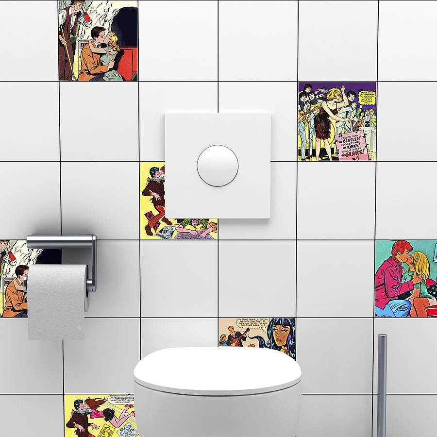 Accessoires Salle De Bain Azulejos ~ reformar parede de azulejos adesivos de vinil a imitar azulejo
