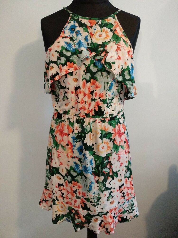 Norway Zara Flower Dress Ebay Af63e 616c0