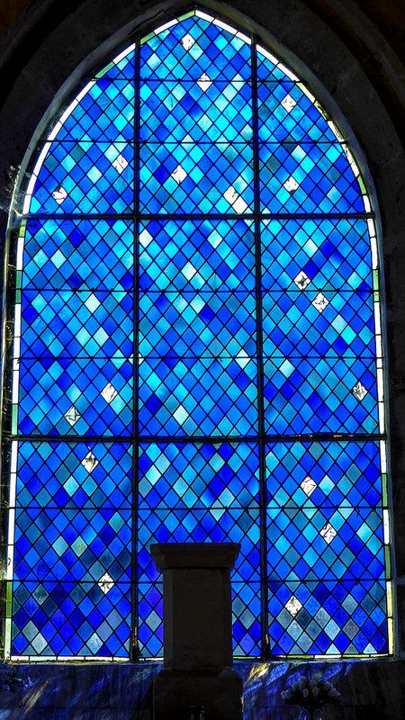 Fontenay-Sur-Mer, Eglise - stained glass-1010576