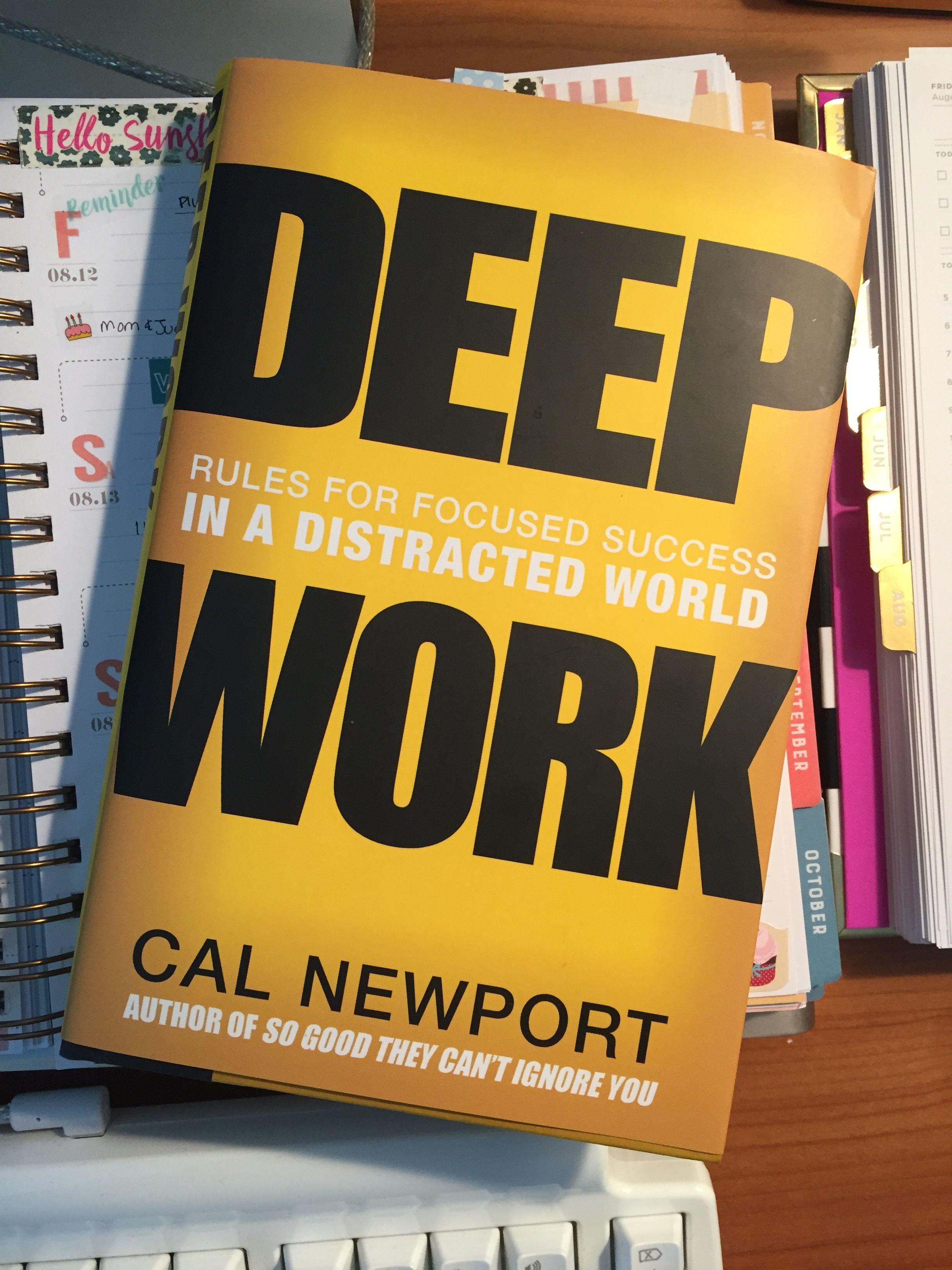 Cal newport book