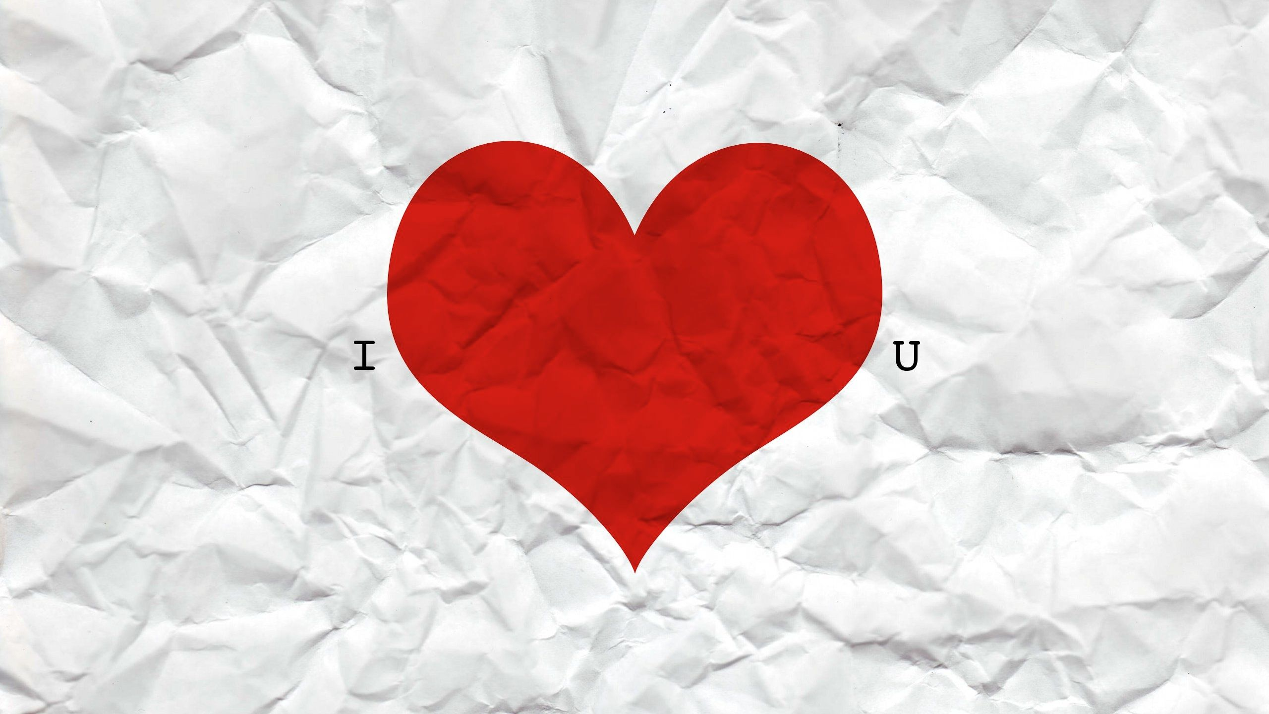 2560x1440 I Heart U Desktop Pc And Mac Wallpaper Valentines Greetings Valentines Greetings For Friends Valentines Wallpaper