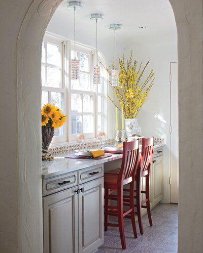 Gray Galley Kitchen: Galley Kitchen Remodel, Kitchen Remodel