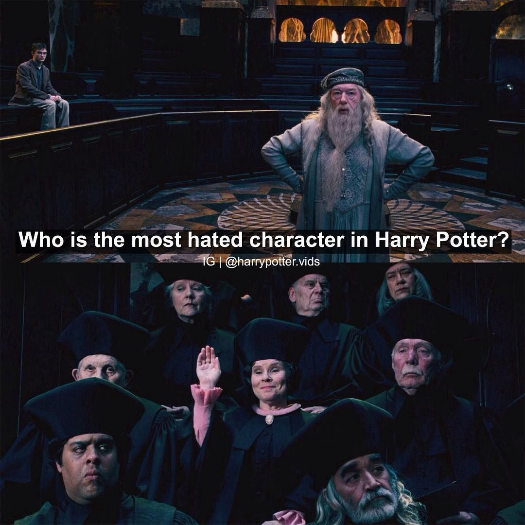 Harry Potter On Instagram Dolores Umbitch Harry Potter Jokes Harry Potter Fanfiction Harry Potter Funny