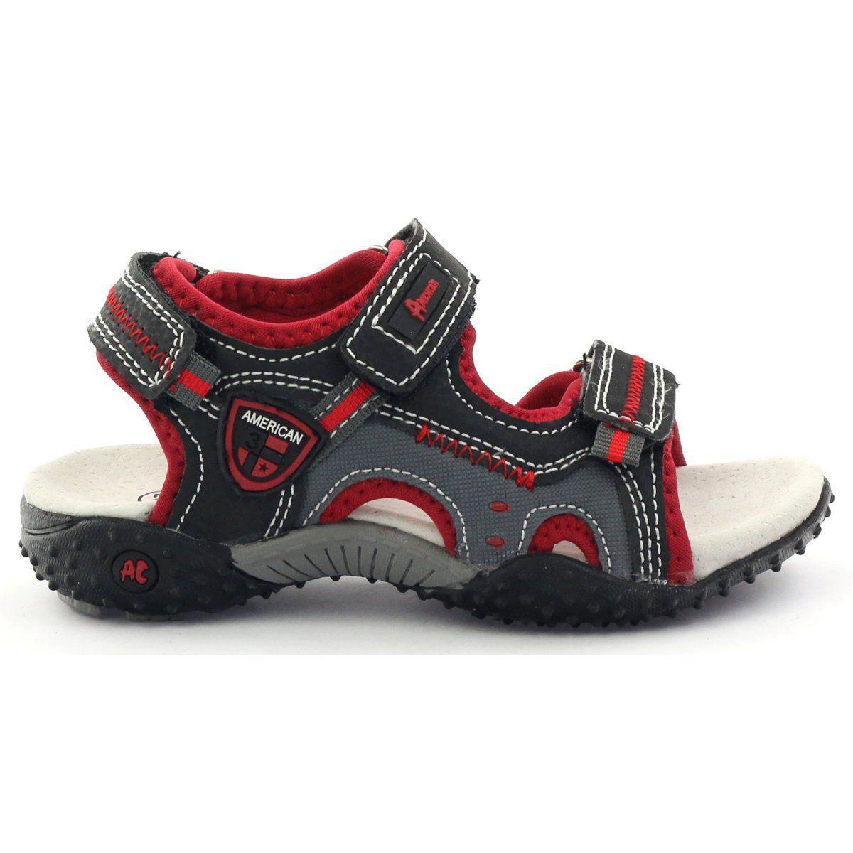 American Club Sandalki Sportowe Na Rzepy American 1614 Shoes Saucony Sneaker Sandals