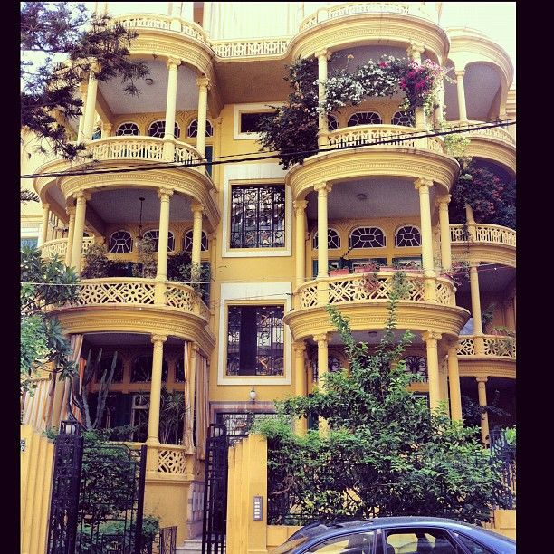 Old Apartment: Beirut, A Beautiful Old Apartment Building With Great