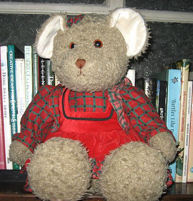 The Bears Who Saved Christmas.Holly Bear From Holly And Christopher The Bears Who Saved Christmas