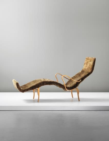 Favorite Picks: Phillips: Nordic Design Bruno Mathsson 'Pernilla' chaise longue, 1944 Full preview: http://www.phillips.com/auctions/auction/UK050414