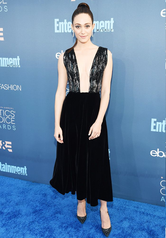 The Best Red Carpet Looks From the Critics' Choice Awards via @WhoWhatWear