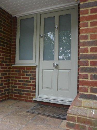 Kingston timber front door with obscure glazing & Kingston timber front door with obscure glazing | Door ideas ...