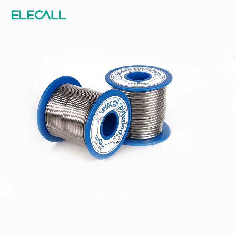 Elecall New Arrival 41sn Solder Wire Roll Rosin Core Tin Lead Welding Roll Flux Reel Lead Meltal Core Soldering Wick Affil Solder Wire Soldering Pure Products