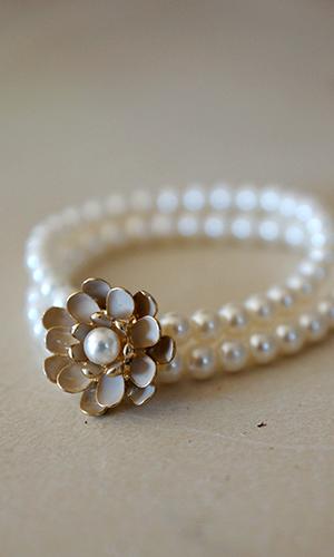 Pearl Blossom Bracelet