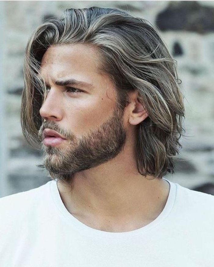 Haircut For Men In 2020 Lange Haare Manner Haar Frisuren Manner Haare Manner