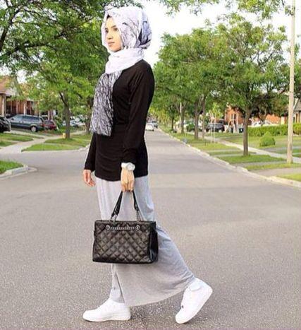 Nikes with Hijab ❤️  #Hijab