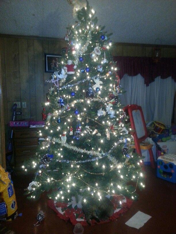 christmas tree we did today