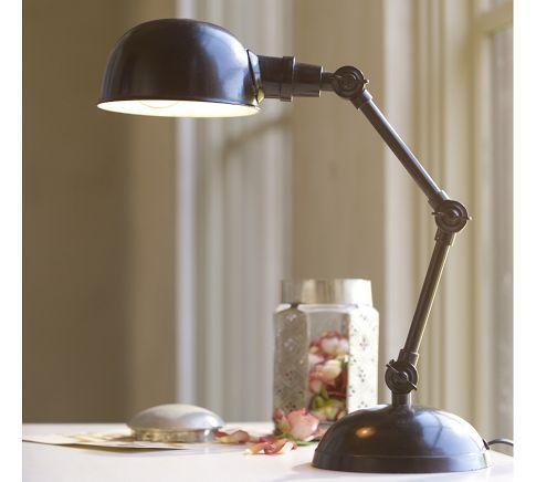 Harrison Task Bedside Lamp Antique Bronze Finish 79 Desk Lamp Bedside Lamp Lamp Table Lamp