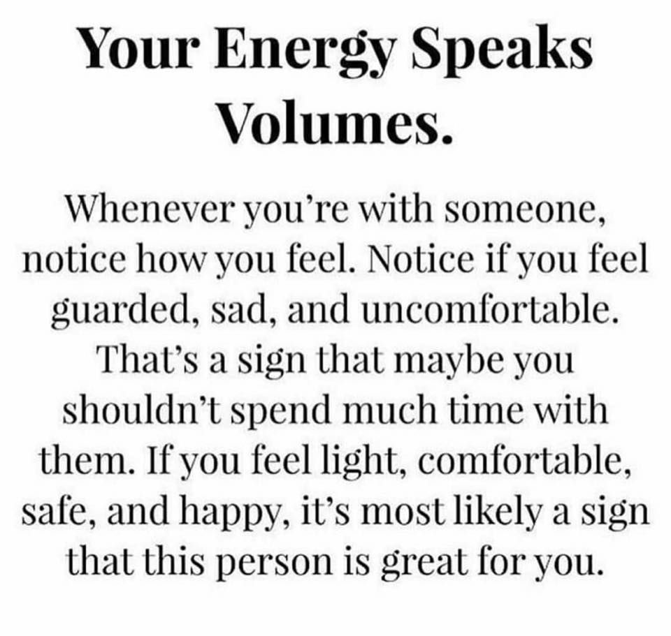 "Energy Quotes Your Energy Speaks Volumes  Wisdom ""yes""  Pinterest  Thoughts"