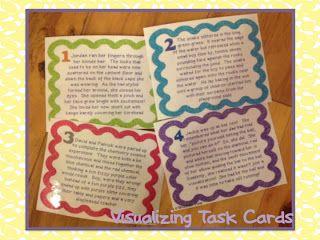 FREE Visualizing Task Cards