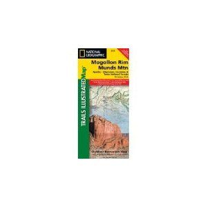 Mogollon Rim Munds Mtn: Apache - Sitgreaves, Coconino, & Tonto National Forests, Arizona, USA (National Geographic Maps: Trails Illustrated)