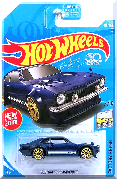 Hot Wheels Custom Ford Maverick Factory Fresh 4 10 219 365