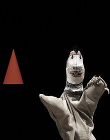 contemporary performance in Berlin using Paul Klee's puppets