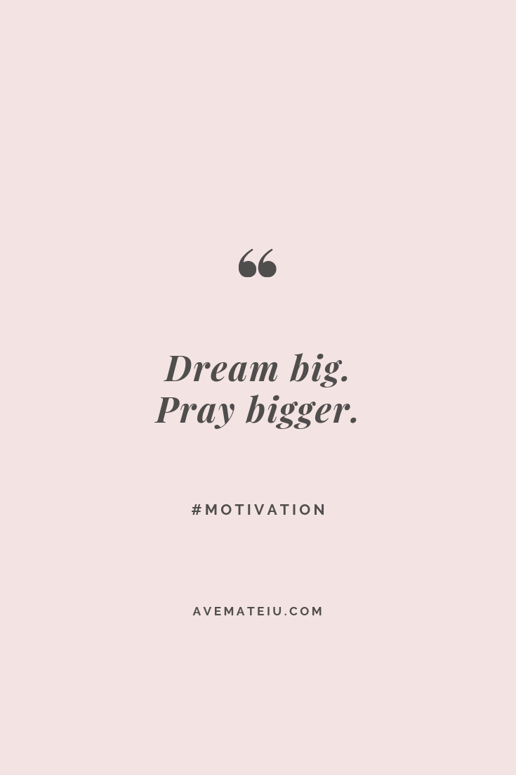 Motivational Quote Of The Day - May 7, 2019 - Ave Mateiu