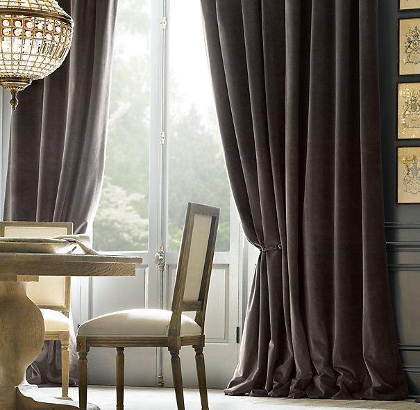 The Magnificence Of Velvet Drapes Anlamli Net In 2020 Traditional Curtains Velvet Curtains Curtains Living Room #pretty #curtains #for #living #room