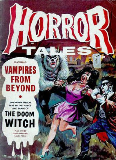 Cover for Horror Tales (Eerie Publications, 1969 series) #v2#4