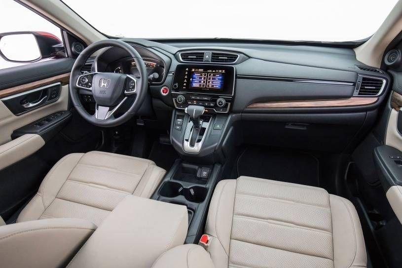 2018 Honda CRV Touring 4dr SUV Interior Honda crv